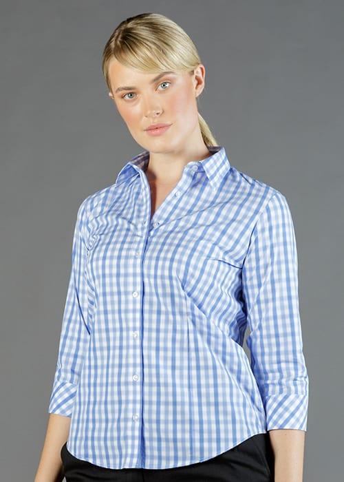 foxton 3/4 sleeve shirt