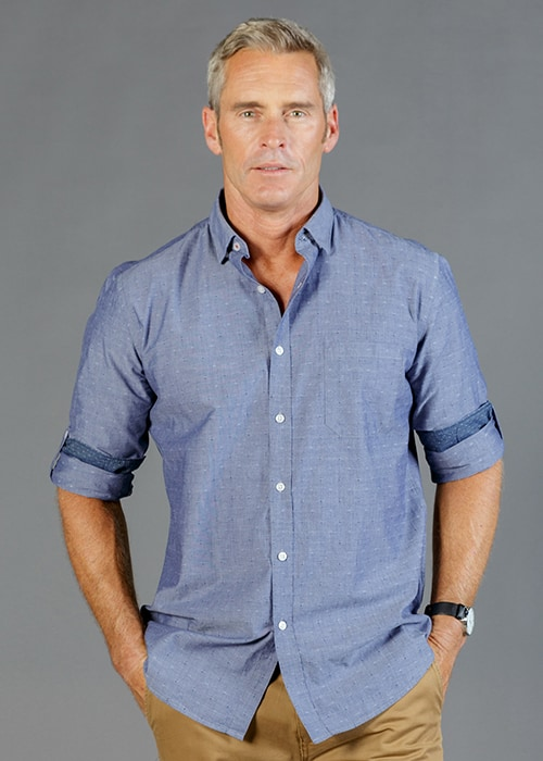 hardware roll sleeve shirt
