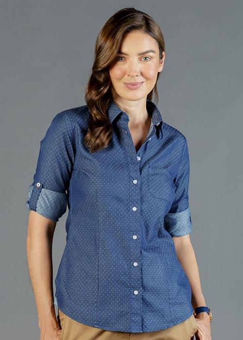 wellington roll sleeve shirt