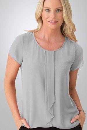 cascade blouse