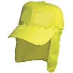 Hi-Vis Safety Cap with Flap (3023)