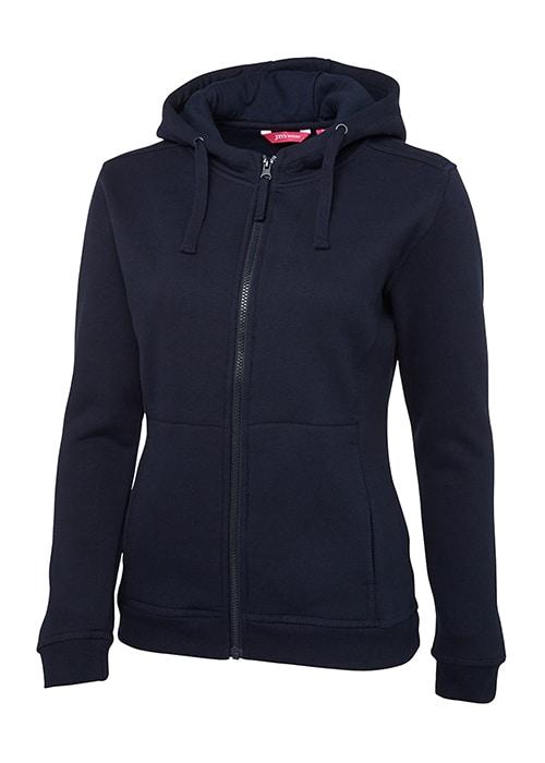 fleecy full zip hoodie