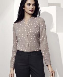 juliette spot blouse