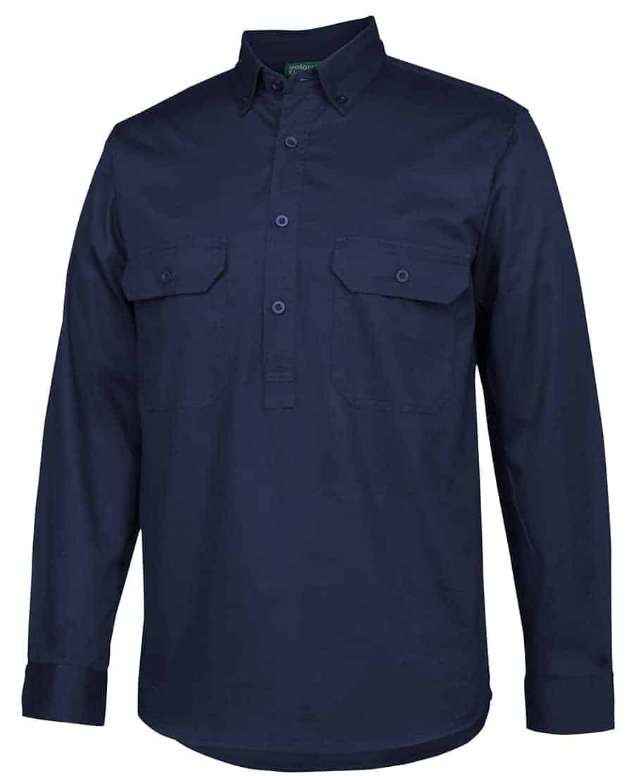 longreach closed front shirt
