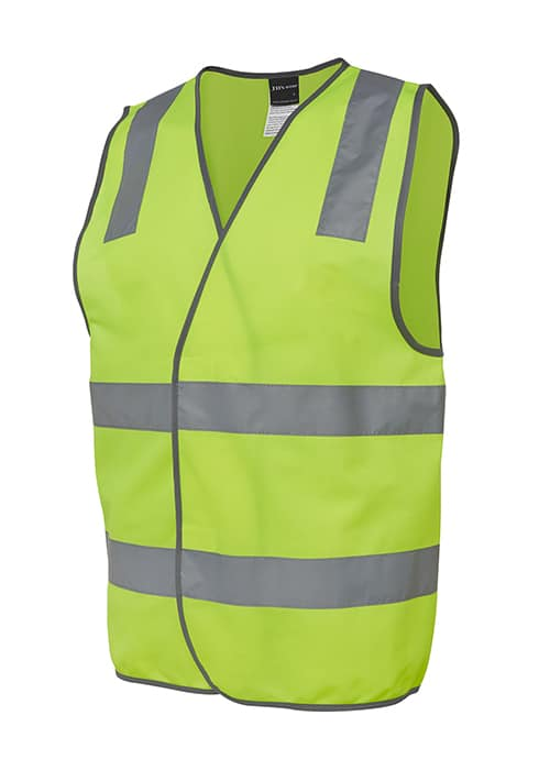 hi vis vest with tape