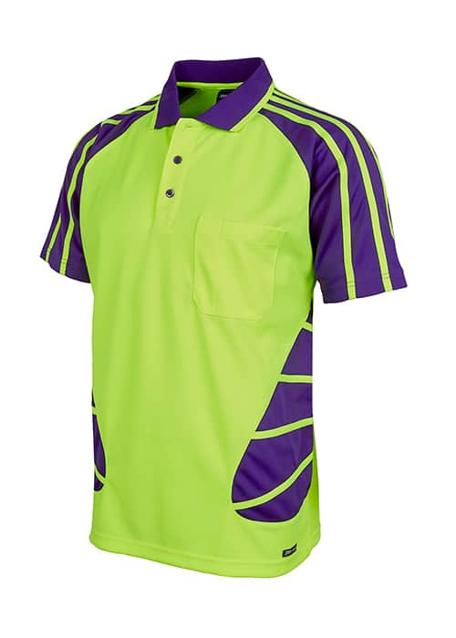 spider polo hi vis