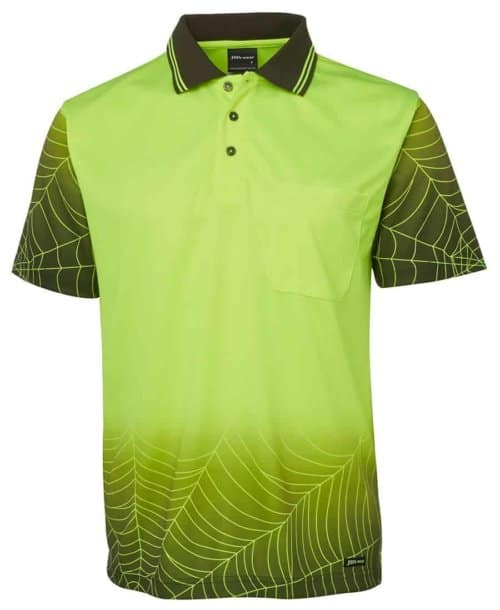 JB's Wear Hi-Vis S/S Web Polo (6WPS)