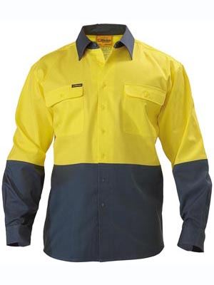 Bisley regular hi-vis shirt (BS6267)