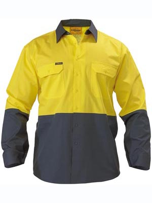 Bisley lightweight hi-vis shirt (BS6895)