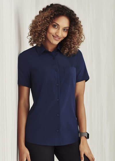 biz care short sleeve shirt