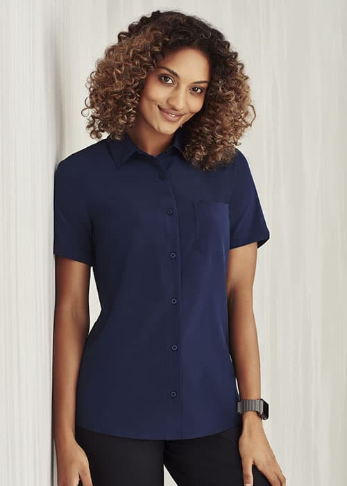 biz care short sleeve shirt
