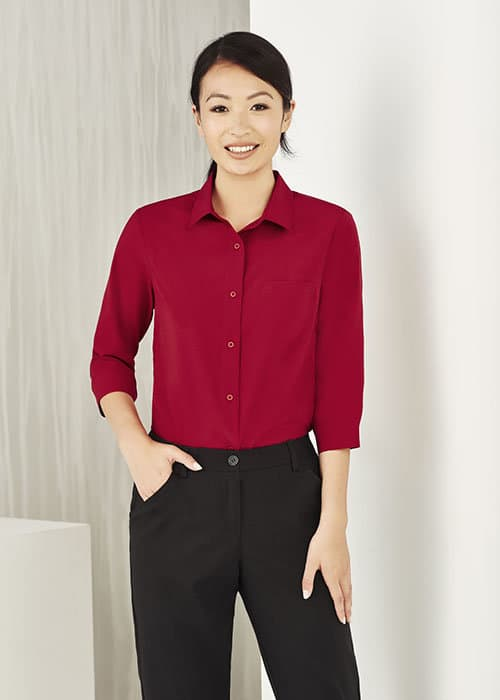 biz care easy stretch shirt