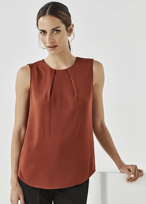 estelle pleat blouse