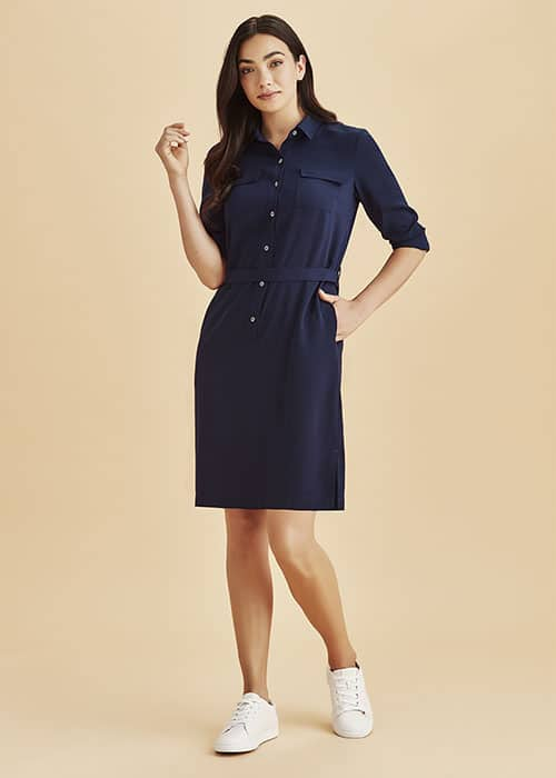 Chloe Georgette Shirt Dress
