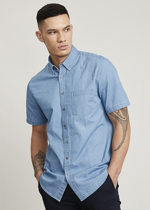 Indie Short Sleeve Shirt Mens