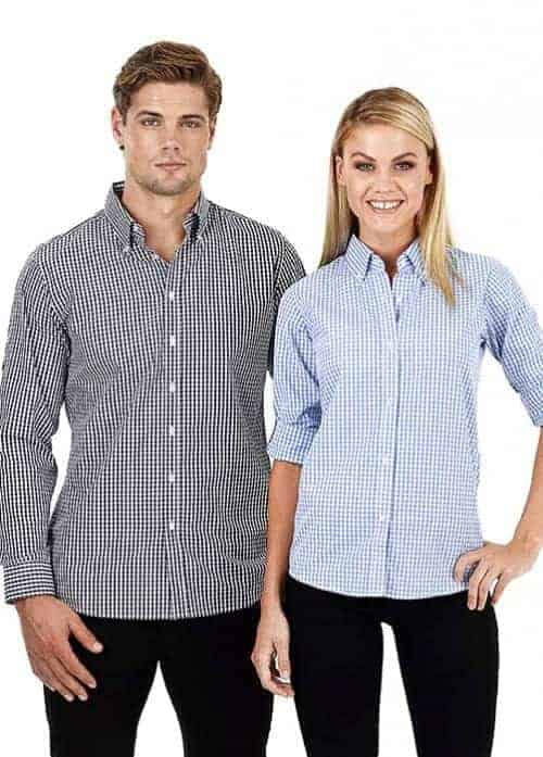 miller gingham shirt