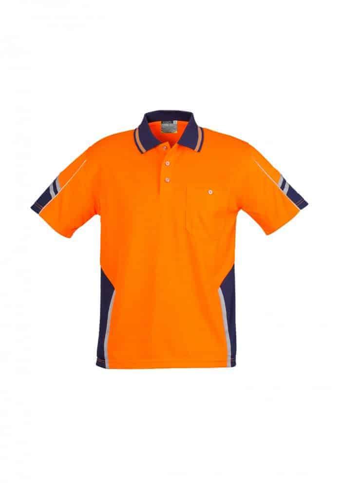 Unisex Hi Vis Squad Polo - Short Sleeve