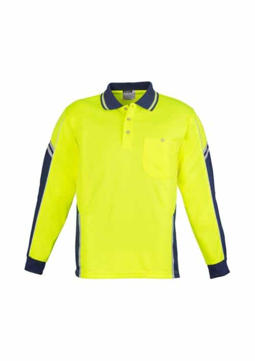 Unisex Hi Vis Squad Polo - Long Sleeve