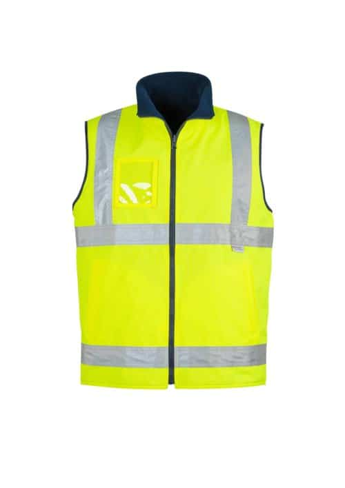 Hi Vis Lightweight Fleece Lined Vest