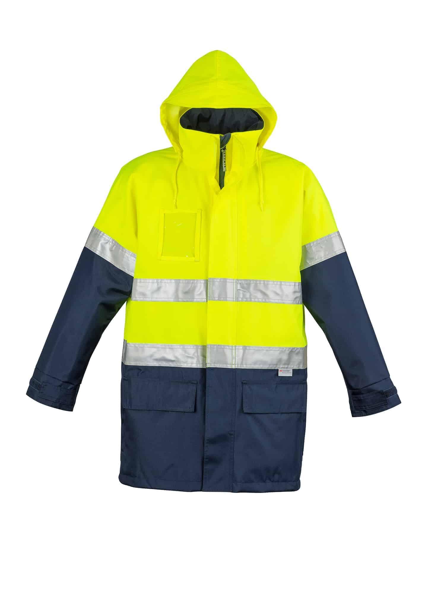 Hi Vis Waterproof Lightweight Jacket