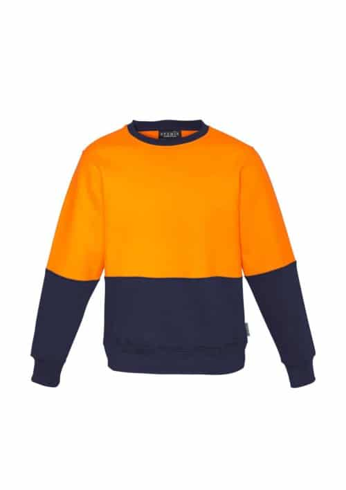 Hi Vis Crew Sweatshirt