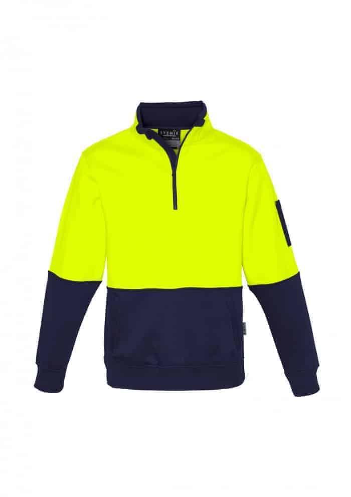 Hi Vis Half Zip Pullover