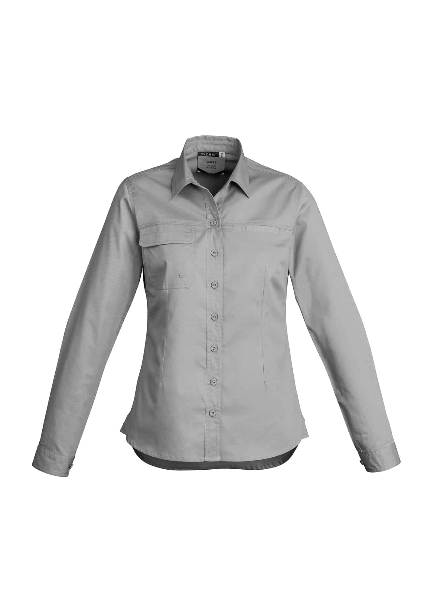 Womens Lightweight Tradie Shirt - Long Sleeve